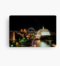 Queen Victoria at the Sydney Overseas Passenger Terminal Canvas Print