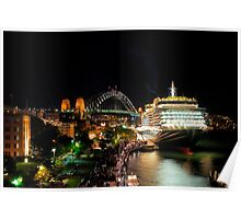 Queen Victoria at the Sydney Overseas Passenger Terminal Poster