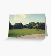 English Garden In Steenwijk (Ramswoerthe) Greeting Card