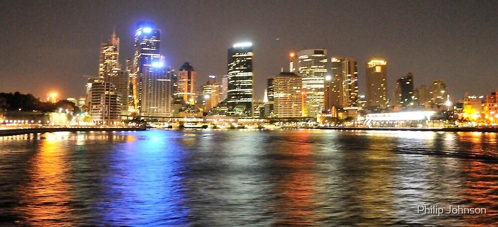 Rainbow City - Circular Quay, Sydney Australia by Philip Johnson