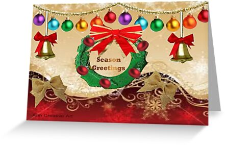Christmas ornaments  by Ann12art