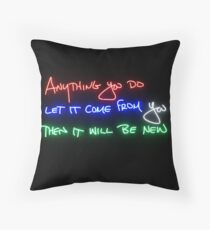 Sunday in the park with george Throw Pillow
