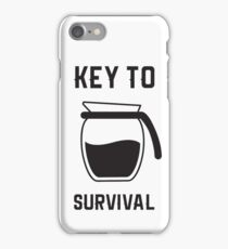 Coffee is the answer iPhone Case/Skin