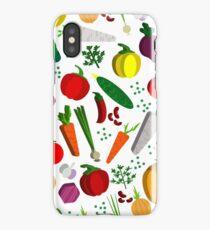 Vegetables pattern. iPhone Case/Skin