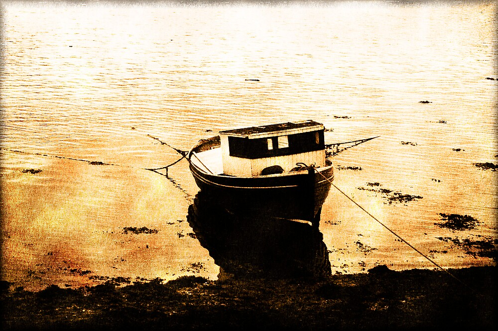 The Old Fishing Boat by KarenMcWhirter