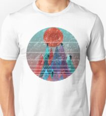 Reach For The Sun - watercolor grunge Unisex T-Shirt