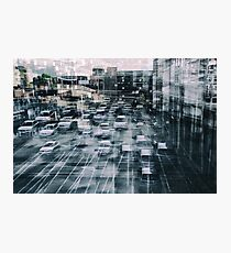 Parking Chaos Photographic Print