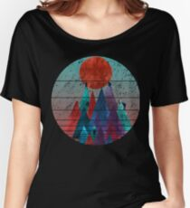 Reach For The Sun - watercolor grunge Women's Relaxed Fit T-Shirt