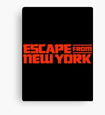 Escape from New York (1981) Movie Canvas Print