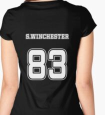 SAM WINCHESTER Women's Fitted Scoop T-Shirt