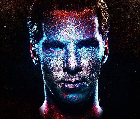 Benedict Cumberbatch - sinister grunge by Joey27