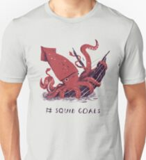 Buts de calmar T-shirt unisexe