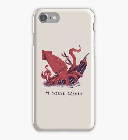 Squid Goals iPhone Case/Skin