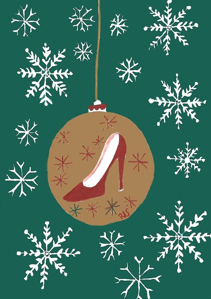 Snowflake Shoe by Anita Ristovski