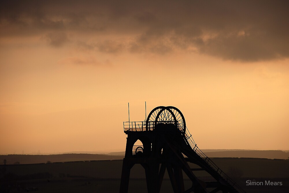 Pleasley Colliery, Notts by Simon Mears