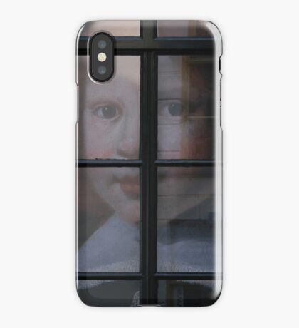 Boy At The Window iPhone Case/Skin