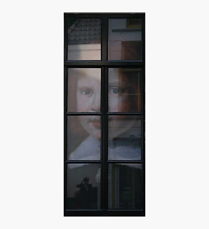 Boy At The Window Photographic Print