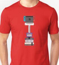 Nintendo Consoles Revised (US) Unisex T-Shirt