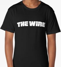 The Wire (2002) TV Series Long T-Shirt