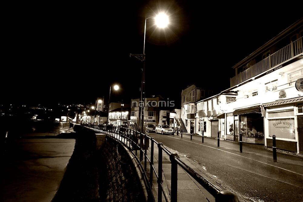st ives, by night by nakomis