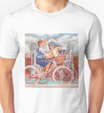 Tweed Runners on Pashleys Unisex T-Shirt