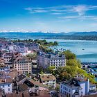 Zurich From Above by vivsworld