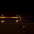 st ives harbour, night 3 by nakomis