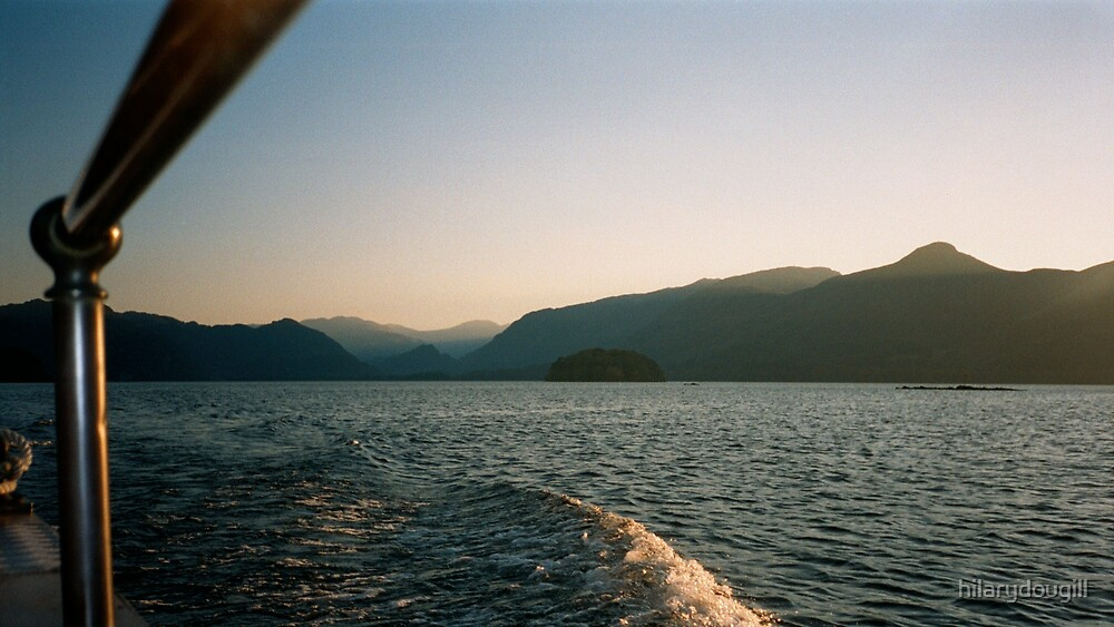 Boatride athe Lakes by hilarydougill
