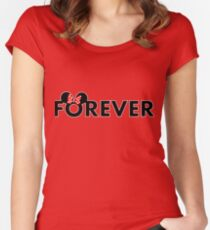 Together Forever Couple (Minnie Forever) Women's Fitted Scoop T-Shirt