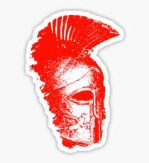 Spartan Warrior - Helmet Sticker