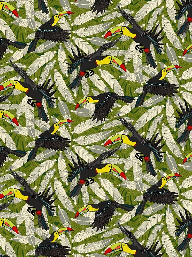 toucan jungle by scrummy