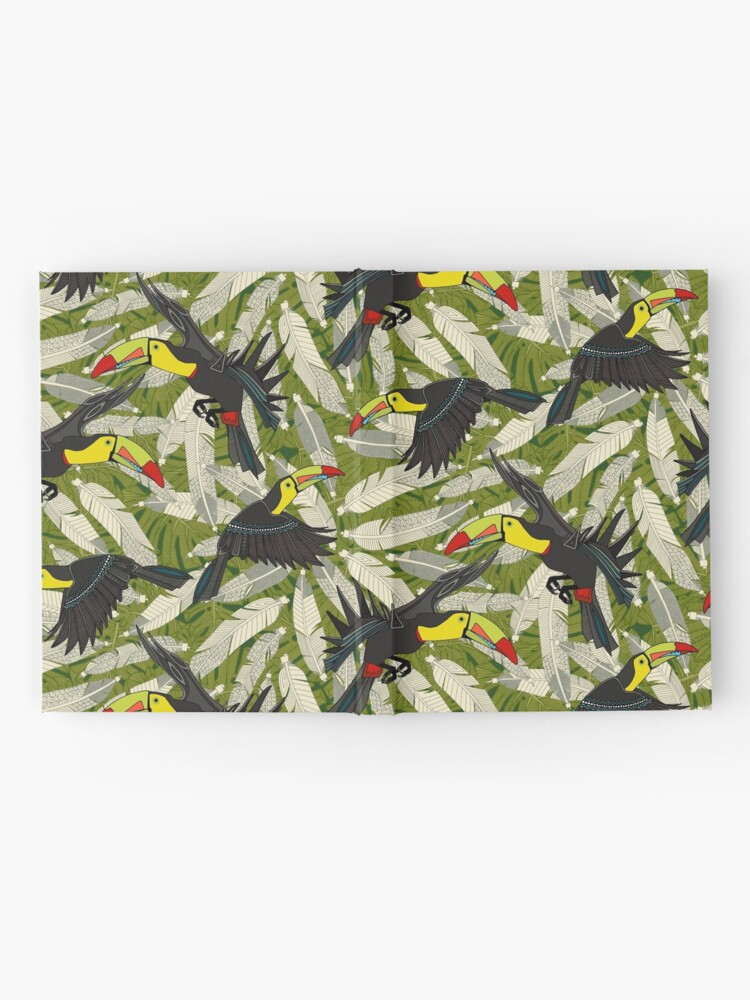 Alternate view of toucan jungle Hardcover Journal