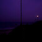 Lamp light in the rain by nakomis