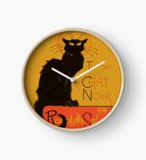 Tournee Du Chat Noir - After Steinlein Clock
