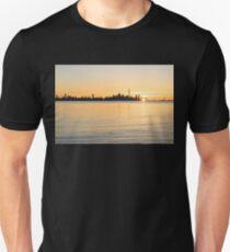 Soft Gold Toronto Sunrise Unisex T-Shirt