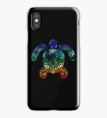 Inked Sea Turtle iPhone Case/Skin