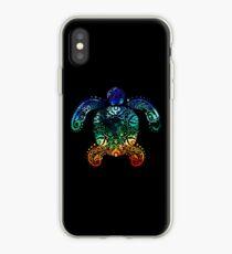 Inked Sea Turtle iPhone Case