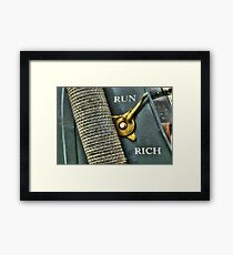Abstract Automotive Framed Print
