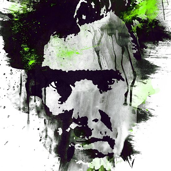 Benedict Cumberbatch - abstract ink by Joey27