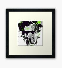 Benedict Cumberbatch - abstract ink Framed Print
