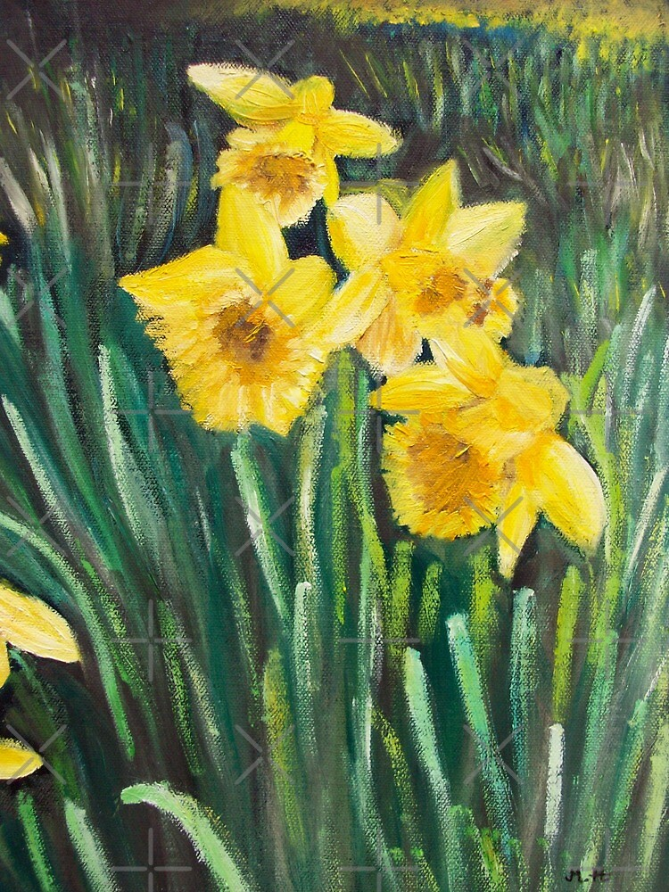 Daffodils by Monika Howarth