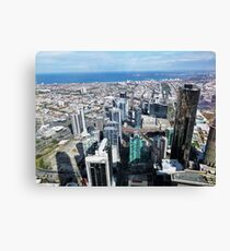 Melbourne from Eureka Skydeck Canvas Print
