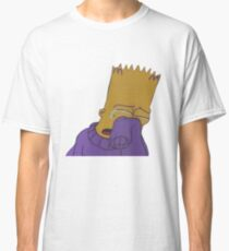 Crying Bart Simpson Classic T-Shirt