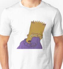 Crying Bart Simpson Unisex T-Shirt