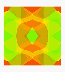 citrus abstract Photographic Print