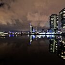 South Wharf Night by Vince Russell