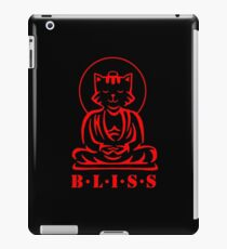 Bliss (Black/Red)   iPad Case/Skin