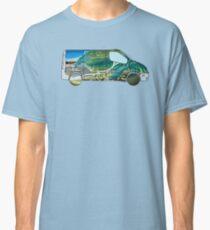 Vanlife (camion de vague) T-shirt classique