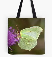 Brimstone Butterfly Tote Bag