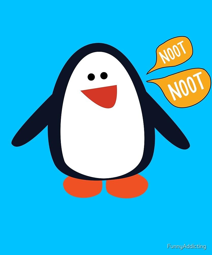 Noot Noot Penguin Shirt by FunnyAddicting